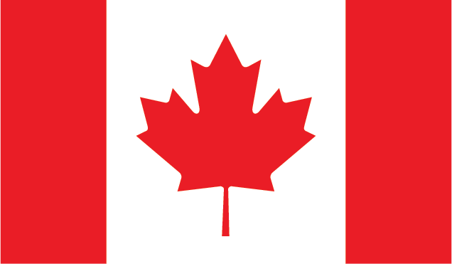 Proudly manufactured in Canada Flag