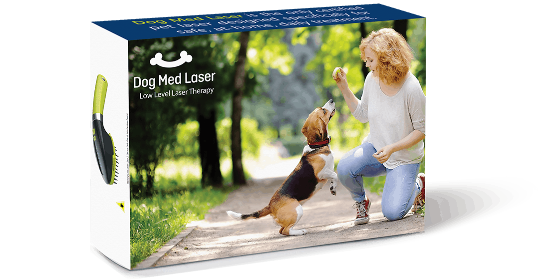 Dog Med Laser Product Box Example