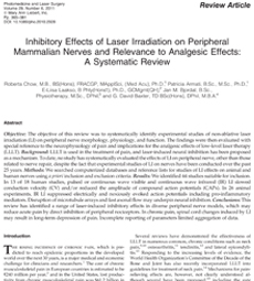 Inhibitory_Effects_of_Laser_Irradiation_on_Peripheral_Mammalian_Nerves_and_Relevance_to_Analgesic_Effects_2011